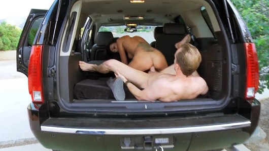 Fucking in the car